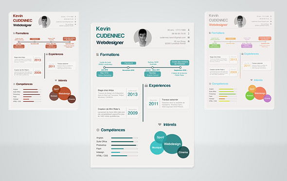 Best free resume templates around the web fancy resumes 3 cv templates yelopaper Image collections