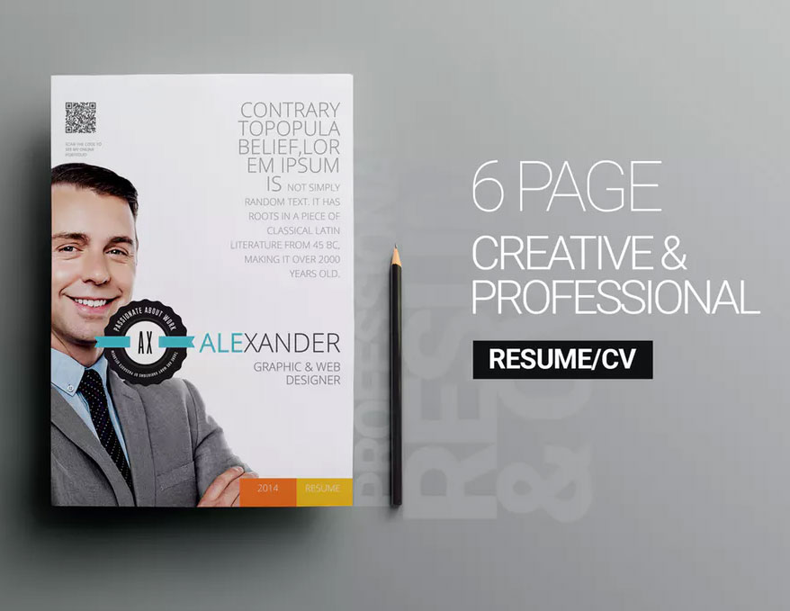 6 page personal resume