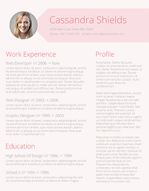 blush and pixie resume