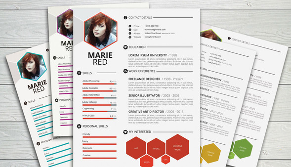 Best Free Resume Templates Around The Web  Fancy Resumes