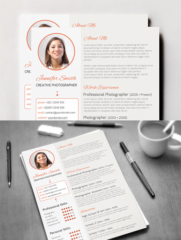 Creative Resume Template  Fancy Resumes