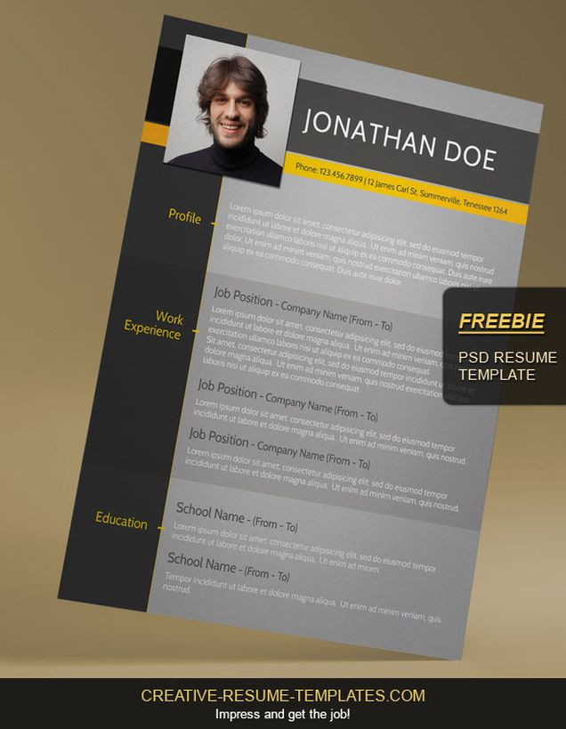 free modern cv template  u2013 fancy resumes
