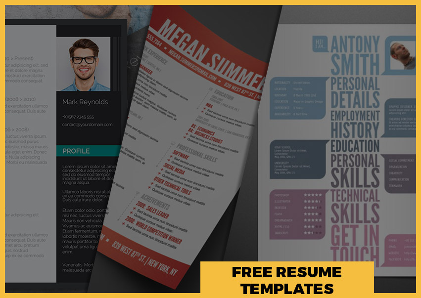 Best Free Resume Templates Around the Web – Fancy Resumes