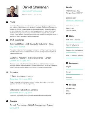 49 modern resume templates that get you hired fancy resumes free resume builder thecheapjerseys Image collections