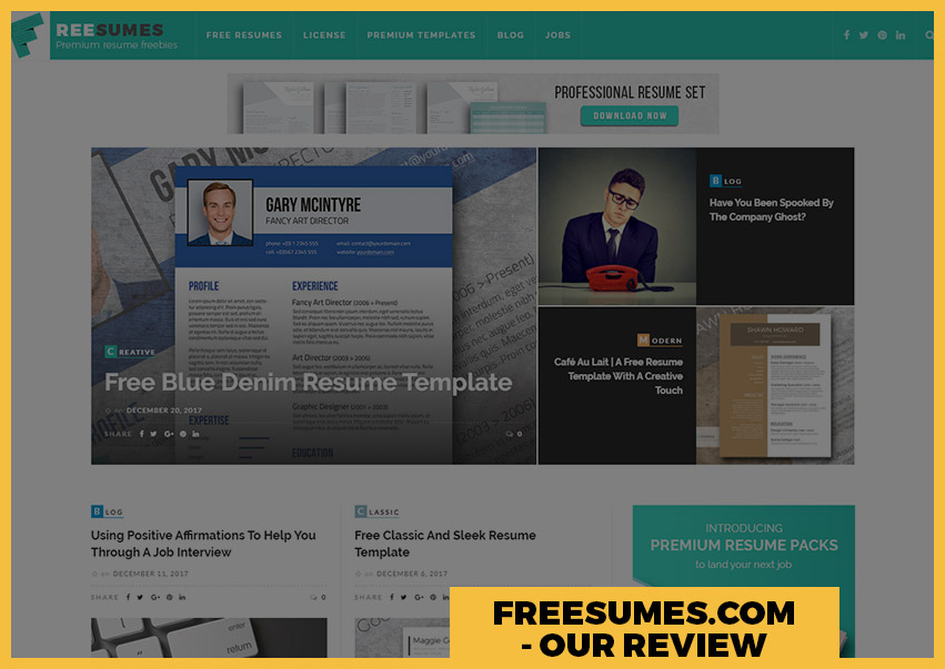 Freesumes Review  Resume Com Review