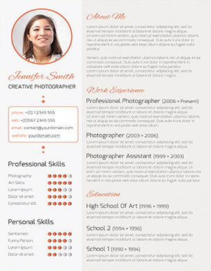modern cv resume - Roho.4senses.co