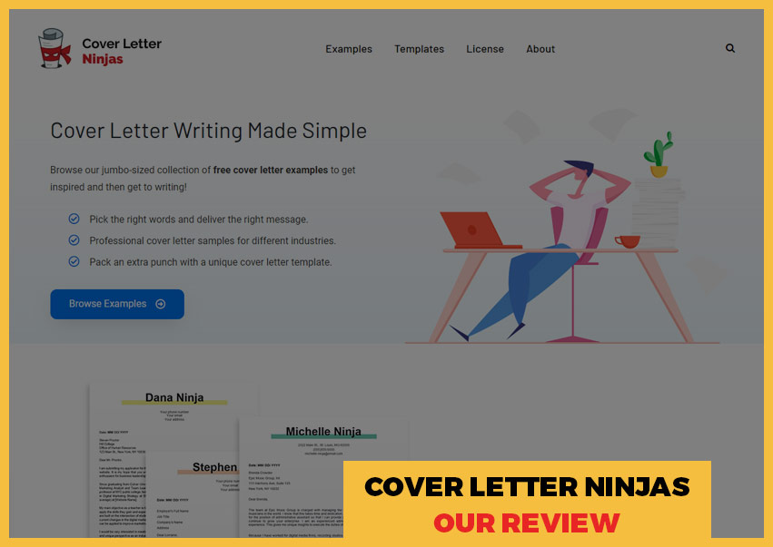Cover Letter Ninjas' review