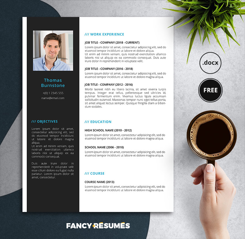 brightin free resume template