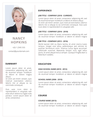 The Fanciest Free Resume Templates To Download Now Fancy Resumes